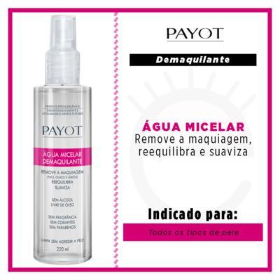 Imagem 2 do produto Água Micelar Demaquilante - Payot - 220ml