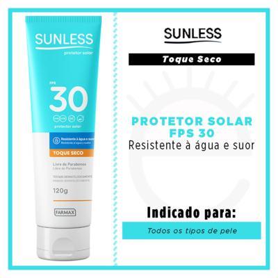 Imagem 2 do produto Protetor Solar Sunless - Toque Seco FPS 30 - 120g