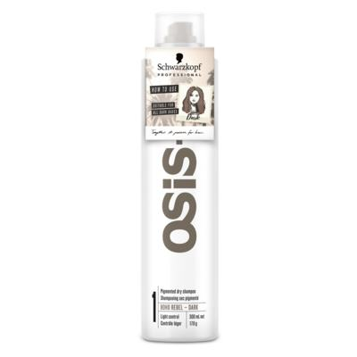 Imagem 1 do produto OSiS+ Boho Rebel Schwarzkopf - Shampoo a Seco Cabelo Castanho Escuro - 300ml