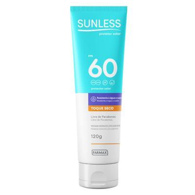 Imagem 1 do produto Protetor Solar Sunless - Toque Seco FPS 60 - 120g