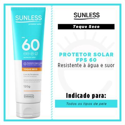Imagem 2 do produto Protetor Solar Sunless - Toque Seco FPS 60 - 120g