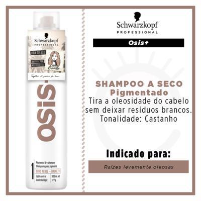 Imagem 2 do produto OSiS+ Boho Rebel Schwarzkopf - Shampoo a Seco Cabelo Castanho Claro - 300ml