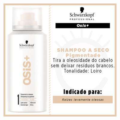 Imagem 2 do produto OSiS+ Boho Rebel Schwarzkopf - Shampoo a Seco Cabelos Loiros - 100ml