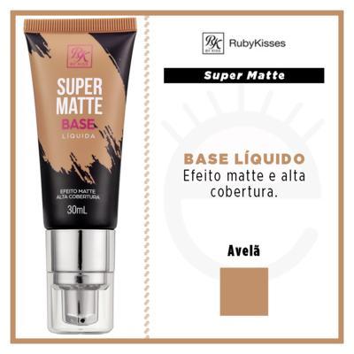 Imagem 4 do produto Base Líquida RK by Kiss - Super Matte - Avelã