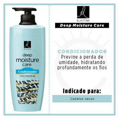Imagem 2 do produto Elastine Moisture Care - Condicionador Queratina - 400ml