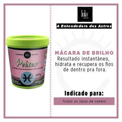Imagem 2 do produto Lola Cosmetics A Entendedora dos Astros Peixes - Máscara de Hidratação Universal - 230g