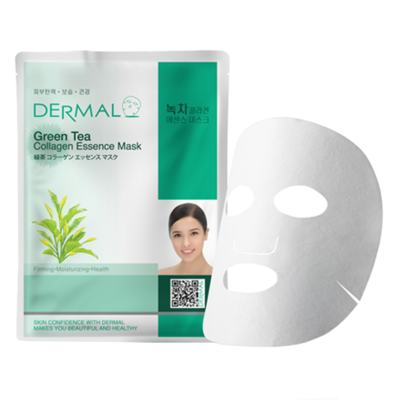 Imagem 2 do produto Máscara Facial Refrescante Dermal - Colágeno com Chá Verde - 23g