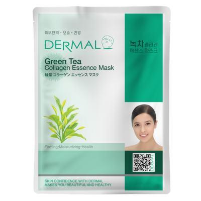 Imagem 3 do produto Máscara Facial Refrescante Dermal - Colágeno com Chá Verde - 23g