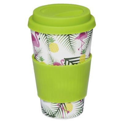 Imagem 1 do produto Copo Eco Océane - Bamboo Cup Flamingos - 1 Un