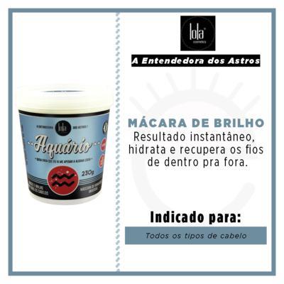 Imagem 2 do produto Lola Cosmetics A Entendedora dos Astros Aquário - Máscara de Hidratação Universal - 230g
