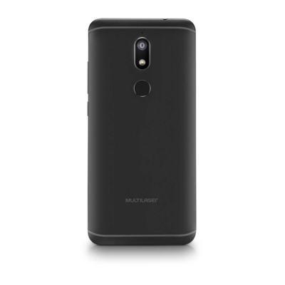 """Imagem 2 do produto Smartphone Multilaser MS80 3GB RAM + 32GB Tela 5,7"""" HD+ 4G Android 7.1 Qualcomm Dual Câmera 20MP+8MP Preto - P9064 - P9064"""