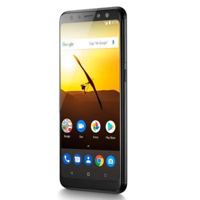 """Imagem 5 do produto Smartphone Multilaser MS80 3GB RAM + 32GB Tela 5,7"""" HD+ 4G Android 7.1 Qualcomm Dual Câmera 20MP+8MP Preto - P9064 - P9064"""