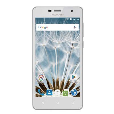 "Imagem 1 do produto Smartphone MS50S Colors 3G Tela IPS de 5"" Android 6 Dual Câmera 5+8MP Multilaser Branco - NB705 - NB705"