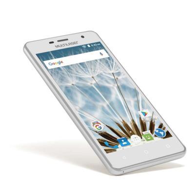 "Imagem 4 do produto Smartphone MS50S Colors 3G Tela IPS de 5"" Android 6 Dual Câmera 5+8MP Multilaser Branco - NB705 - NB705"
