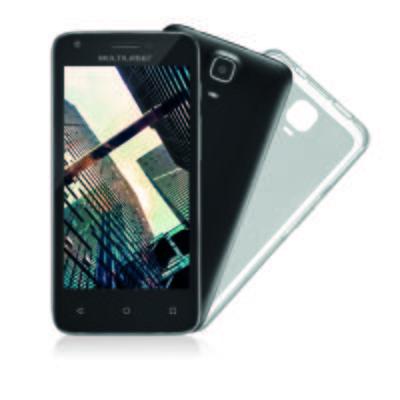Smartphone Multilaser MS45r Tela 4.5 pol. Câmera 5.0MP + 3.0PM Ram 1 GB Flash 8Gb Android Preto - NB712 - NB712