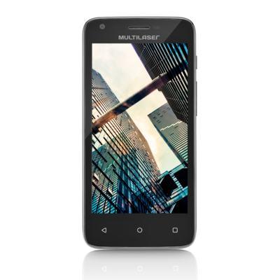 Imagem 2 do produto Smartphone Multilaser MS45r Tela 4.5 pol. Câmera 5.0MP + 3.0PM Ram 1 GB Flash 8Gb Android Preto - NB712 - NB712