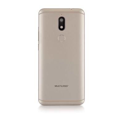 """Imagem 2 do produto Smartphone Multilaser MS80 4GB RAM + 64GB Tela 5,7"""" HD+ Android 7.1 Qualcomm Dual Câmera 20MP+8MP Dourado - P9067 - P9067"""