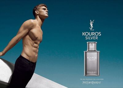 Imagem 2 do produto Yves Saint Laurent Kouros Silver Eau de Toilette Perfume Masculino