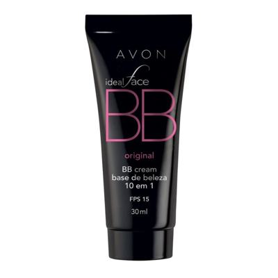 Imagem 1 do produto BB Cream 10 em 1 Avon Ideal Face FPS 15 30ml - BB Cream 10 em 1 Avon Ideal Face FPS 15 30ml - Mel