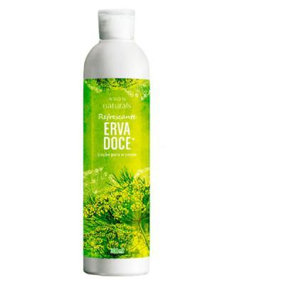 Loção para o Corpo Naturals Erva Doce - 300 ml
