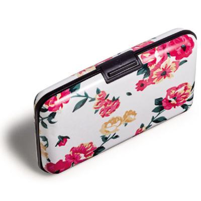 Porta Cartão Estampado - Floral