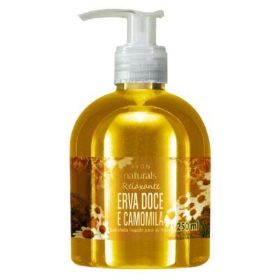 Imagem 1 do produto Sabonete Líquido Naturals Erva Doce e Camomila - 250 ml -