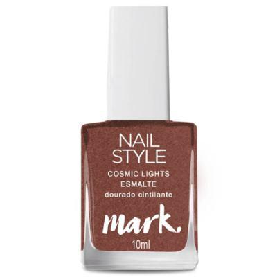 Imagem 2 do produto Esmalte Mark. Nail Style Cosmic Lights 10ml - Esmalte Mark. Nail Style Cosmic Lights 10ml - Dourado Cintilante