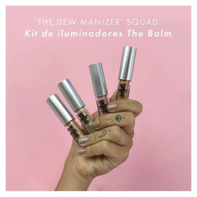 Imagem 5 do produto The Dew Manizer' Squad TheBalm - Kit de Iluminadores - Kit