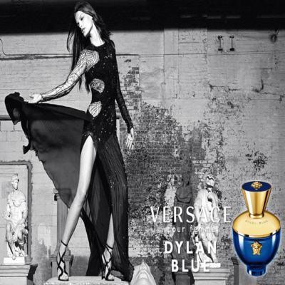 Imagem 6 do produto Dylan Blue Pour Femme Versace - Perfume Feminino Eau de Parfum - 50ml