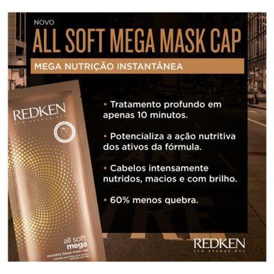 Imagem 2 do produto Redken All Soft Mega Mask Cap - Máscara Hidratante - 10ml