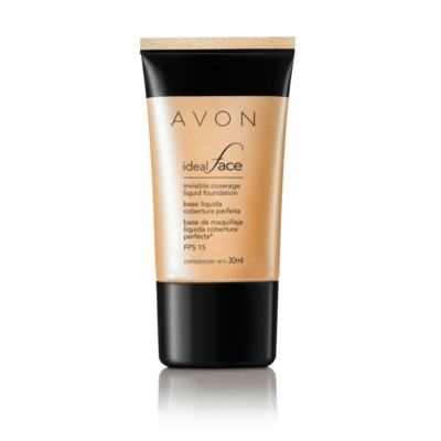 Base Líquida Avon Ideal Face FPS 15 30ml