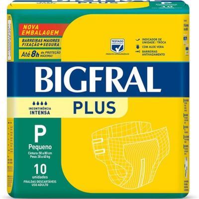 Imagem 3 do produto Kit Fralda Geriátrica Bigfral Plus P 80 unidades -