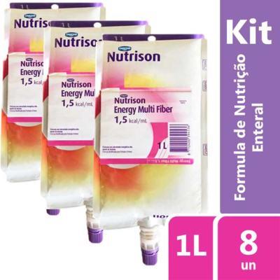 Imagem 2 do produto Kit Nutrison Energy Multi Fiber 1.5 1L Sachê com 8 unidades
