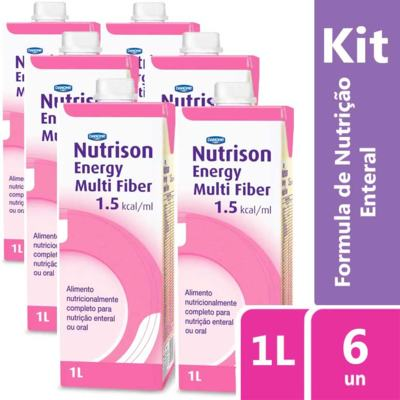 Imagem 2 do produto Kit Nutrison Energy Multi Fiber 1.5 1L 6 unidades