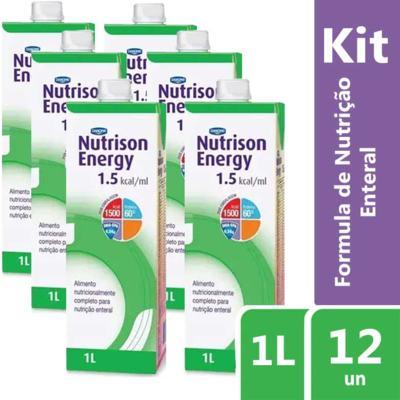 Imagem 2 do produto Kit Nutrison Energy 1.5 1L 12 unidades
