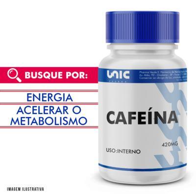 Cafeína 420mg - 60 Cápsulas