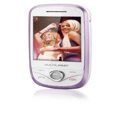 Imagem 2 do produto Celular Multilaser Touch N Branco Rosa - P3282 - P3282