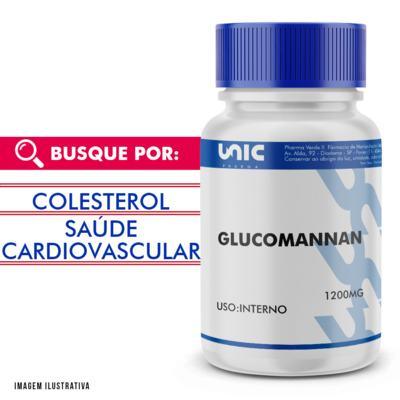 Glucomannan 1200mg - 90 Cápsulas