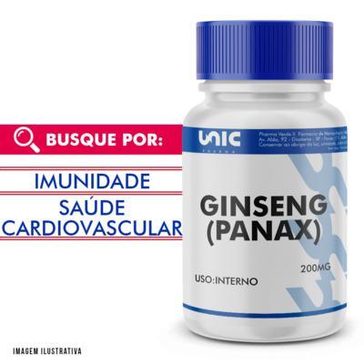 Ginseng (panax) 200mg - 90 Cápsulas