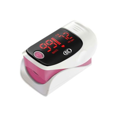 Oximetro de Pulso de Dedo Rosa Bic