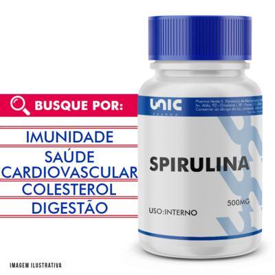 Imagem 1 do produto Spirulina 500mg - 120 Cápsulas