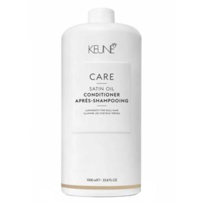 Imagem 2 do produto Keune Care Satin Oil Condicionador Tamanho Professional - 1L