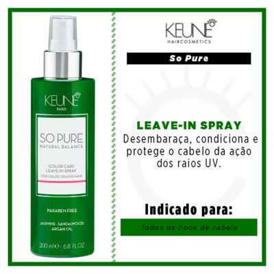 Imagem 2 do produto Keune So Pure Color Care - Leave-In Spray - 200ml