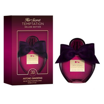 Her Secret Temptation Deluxe Edition Antonio Banderas Perfume Feminino - Eau de Toilette - 80ml