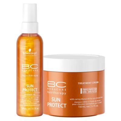 Schwarzkopf Professional BC Bonacure Sun Protect  Kit - Óleo + Máscara - Kit