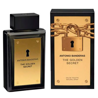 Imagem 2 do produto The Golden Secret Antonio Banderas - Perfume Masculino - Eau de Toilette - 200ml