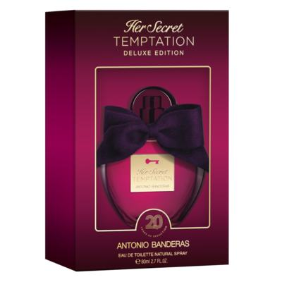 Imagem 2 do produto Her Secret Temptation Deluxe Edition Antonio Banderas Perfume Feminino - Eau de Toilette - 80ml