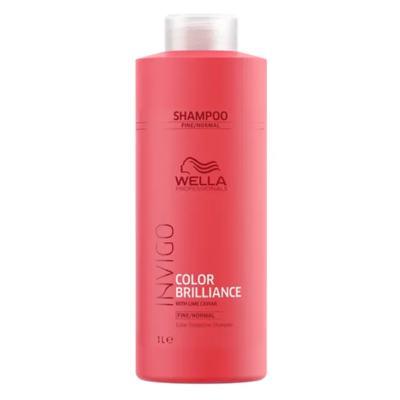 Imagem 2 do produto Kit Invigo Color Brilliance Tamanho Profissional Wella - Shampoo + Condicionador + Máscara + Booster - Kit
