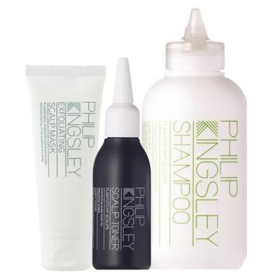 Imagem 1 do produto Kit Restaurador Philip Kingsley - Shampoo + Máscara + Tônico - Kit