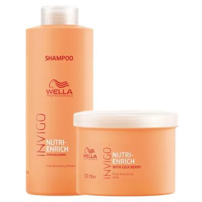 Imagem 1 do produto Wella Professionals Invigo Nutri-Enrich Kit - Shampoo + Máscara - Kit